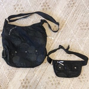 Lululemon Rare Sidestage 2 in 1 Travel Dance Bag